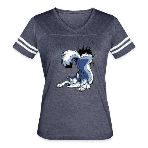 UN-STUCK Grey Husky - Women's Vintage Sport T-Shirt