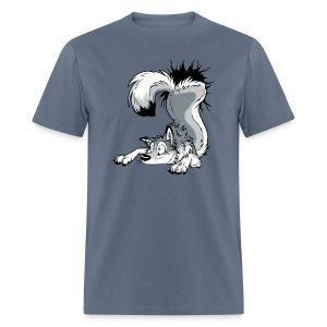 UN-STUCK Grey Husky - Men's T-Shirt
