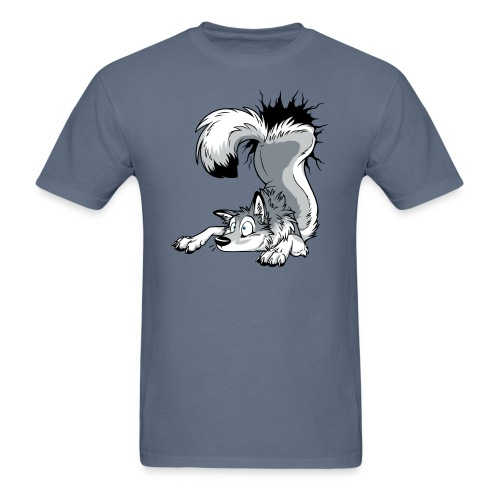 UN-STUCK Grey Husky - Men's T-Shirt