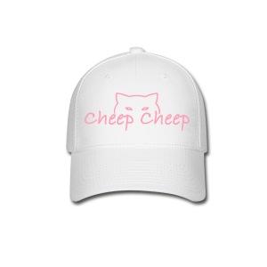 CheepCheep Baseball Cap w/ Paw Print on back - Baseball Cap