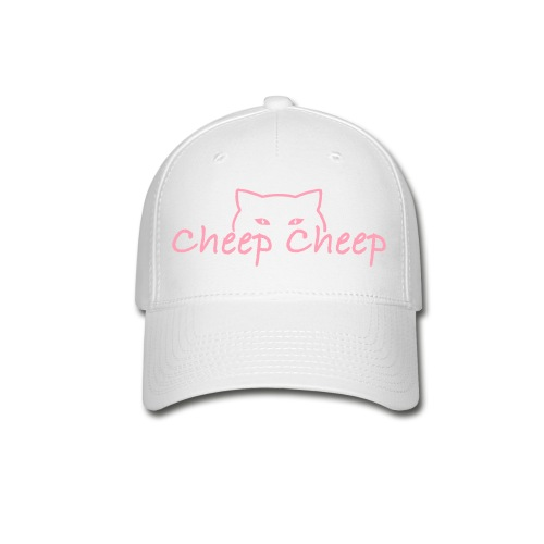 CheepCheep Baseball Cap w/ Paw Print on back - Baseball Cap