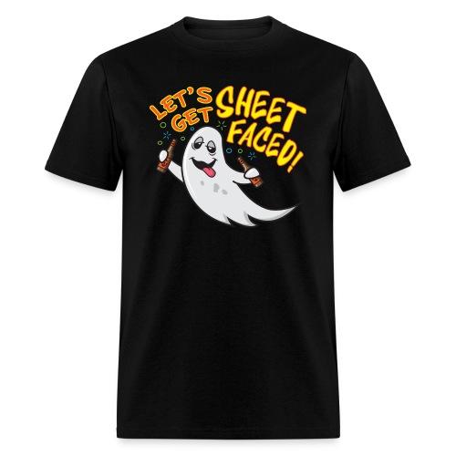 Let's Get Sheet Faced! T-shirt - Men's T-Shirt