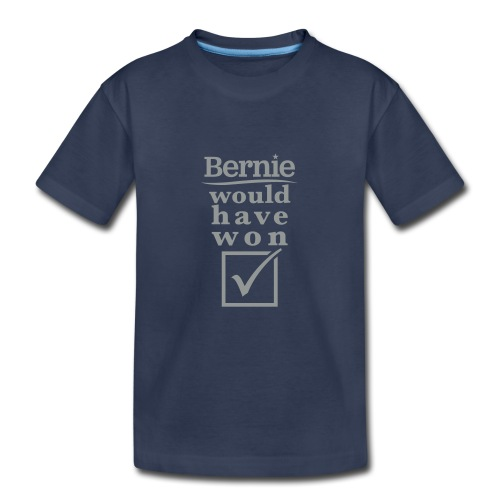 * Bernie Would Have Won! * (velveteen.print)  - Kids' Premium T-Shirt