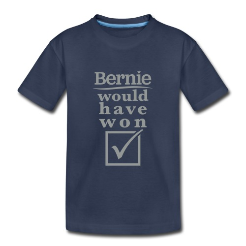 * Bernie Would Have Won! * (velveteen.print)  - T-shirt premium pour enfants