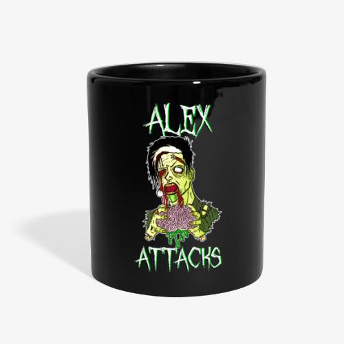 Zombie Eating Brains Mug - Full Color Mug