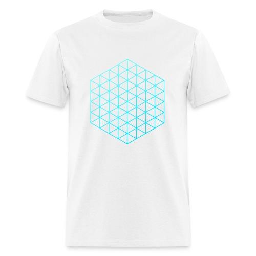 3D Cube - Men's T-Shirt