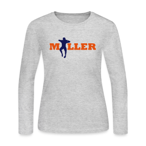 V. Miller Dance - Ladies Long Sleeve - Women's Long Sleeve Jersey T-Shirt