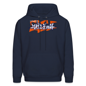I Call It...MILE HIGH - Orange and Blue - Hoodie - Men's Hoodie