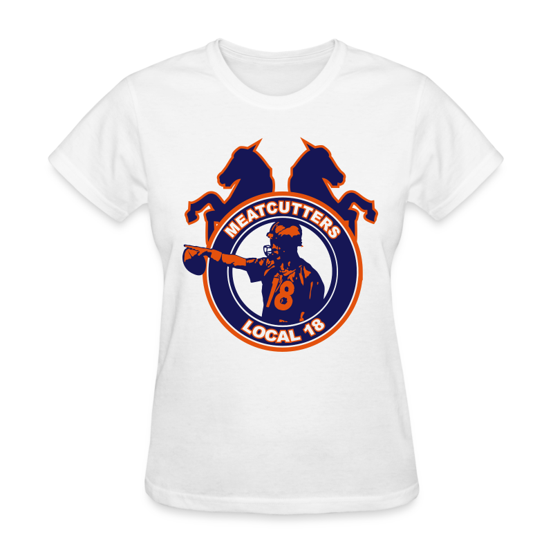 Meatcutters Local 18 - Ladies - Women's T-Shirt