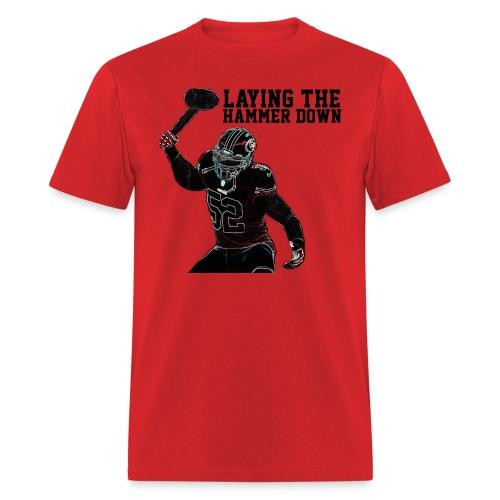 Patrick Willis Laying the Hammer Down T-Shirt - Men's T-Shirt