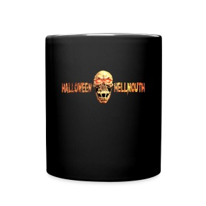 Hellmouth Logo Coffe Mug - Black - Full Color Mug