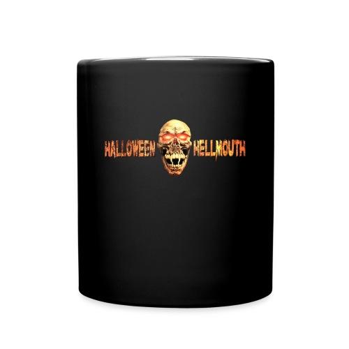 Hellmouth Logo Coffe Mug - Black - Full Color Mug