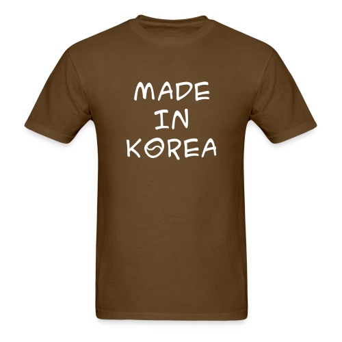 Made in Korea t-shirt - Men's T-Shirt