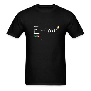 E=mc White - Men's T-Shirt