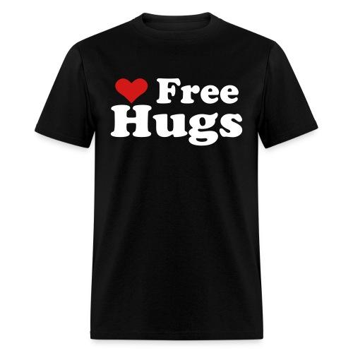 Free hugs heart Shirt - Men's T-Shirt