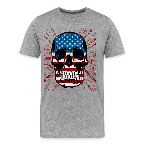 American Skull - Men's Premium T-Shirt