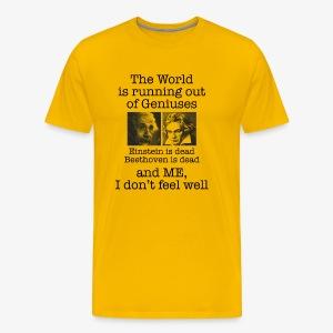 Genius T-shirt - Men's Premium T-Shirt