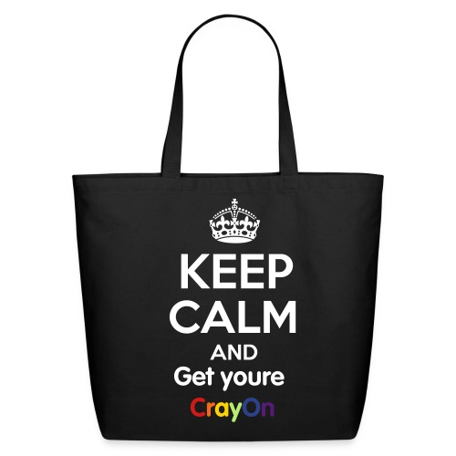 Keep calm - Eco-Friendly Cotton Tote
