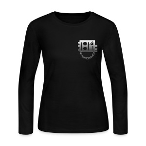 1814 Pledge Women's Longsleeve (Front/Back) - Women's Long Sleeve Jersey T-Shirt