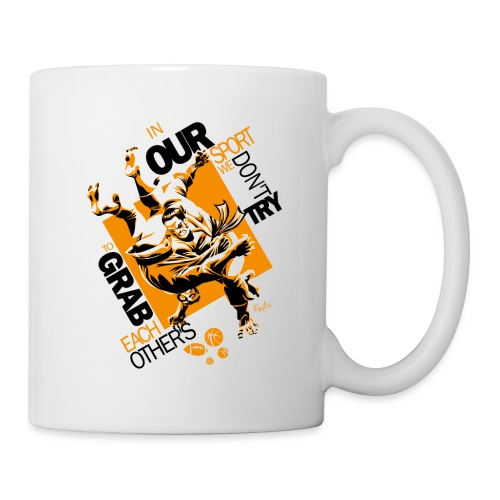 Judo Throw Mug In My Sport - Coffee/Tea Mug