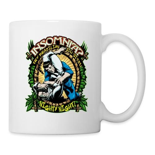 Brazilian Jiu Jitsu Mug Insomnia - Coffee/Tea Mug