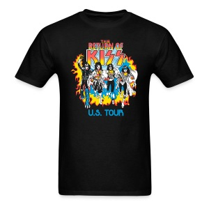 The Return of KISS - Men's T-Shirt