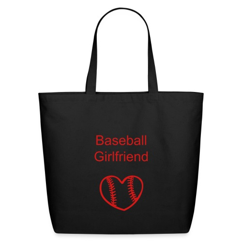 Baseball Girlfriend Tote - Eco-Friendly Cotton Tote
