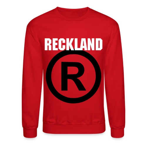 Reckland Registered - Crewneck Sweatshirt