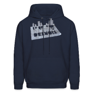 Hoodies ~ Men's Hoodie ~ Detroit Loose Leaf