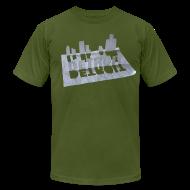 T-Shirts ~ Men's T-Shirt by American Apparel ~ Detroit Loose Leaf