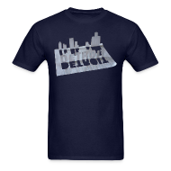 T-Shirts ~ Men's T-Shirt ~ Detroit Loose Leaf