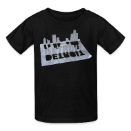 Kids' Shirts ~ Kids' T-Shirt ~ Detroit Loose Leaf
