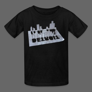 Detroit Loose Leaf - Kids' T-Shirt