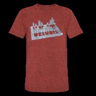 T-Shirts ~ Unisex Tri-Blend T-Shirt ~ Detroit Loose Leaf