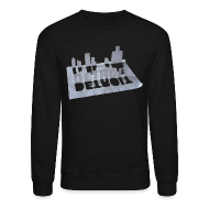 Long Sleeve Shirts ~ Crewneck Sweatshirt ~ Detroit Loose Leaf