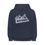 Sweatshirts ~ Kids' Hoodie ~ Detroit Loose Leaf