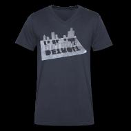 T-Shirts ~ Men's V-Neck T-Shirt by Canvas ~ Detroit Loose Leaf