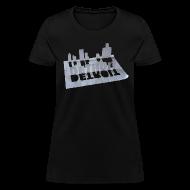 Women's T-Shirts ~ Women's T-Shirt ~ Detroit Loose Leaf