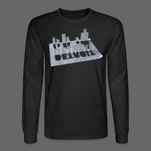 Detroit Loose Leaf - Men's Long Sleeve T-Shirt