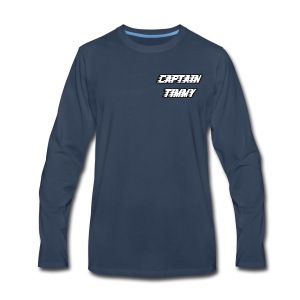 Captain Timmy Premium Long Sleeve T-Shirt - Men's Premium Long Sleeve T-Shirt