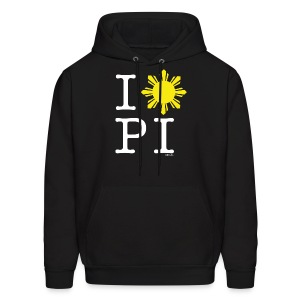 I Love The Philippines Mens Hoody Sweatshirt by AiReal Apparel - Men's Hoodie