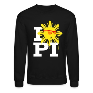 I Love The Philippines Yeezy Mens Crewneck Sweatshirt by AiReal Apparel - Crewneck Sweatshirt