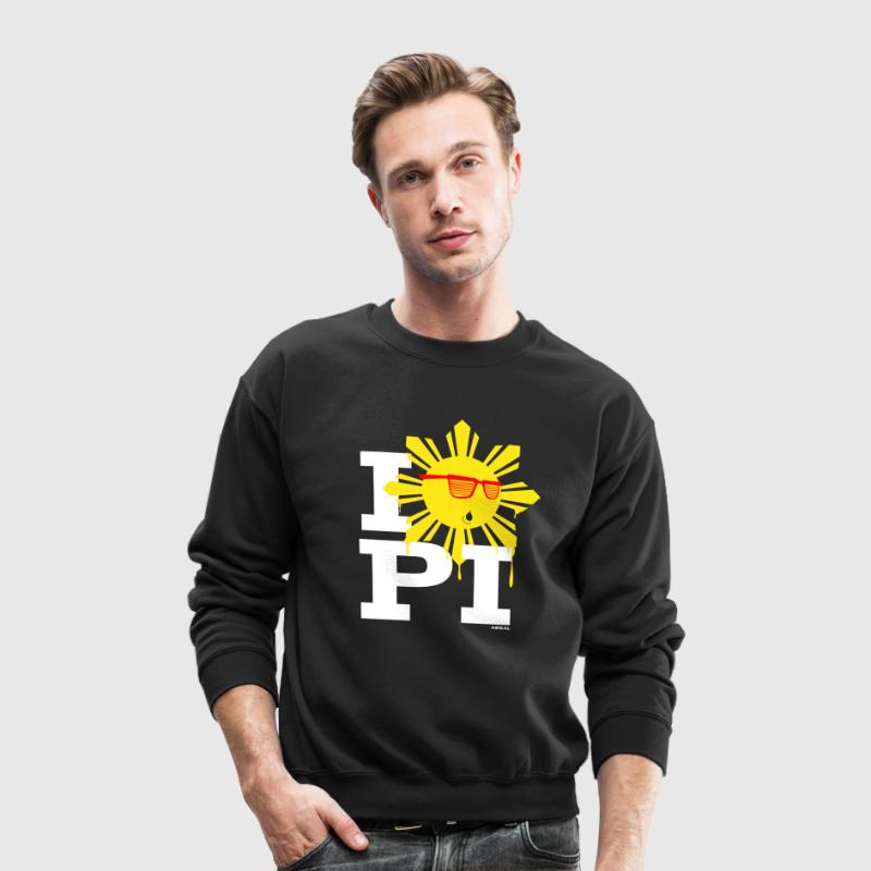 I Love The Philippines Yeezy Mens Shirt by AiReal - Crewneck Sweatshirt