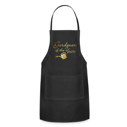 Gardener of the Year Apron (Gold) - Adjustable Apron