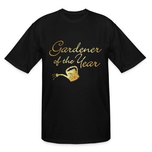 Gardener of the Year Tall T-Shirt (Gold) - Men's Tall T-Shirt