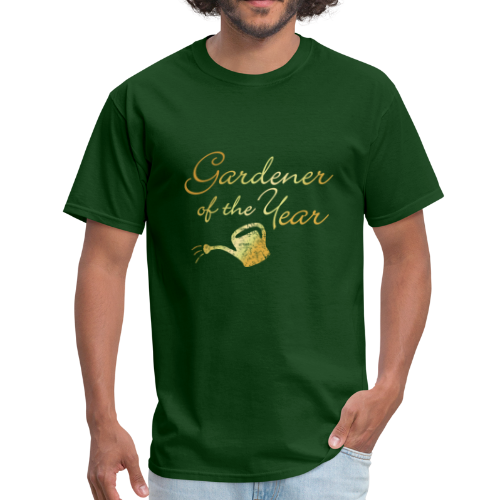 Gardener of the Year T-Shirt (Gold) - Men's T-Shirt