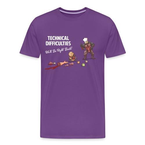 DUUMB Technical Difficulties Shirt - Men's Premium T-Shirt