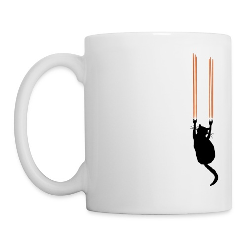 Scratcher Cat's Mug - Coffee/Tea Mug