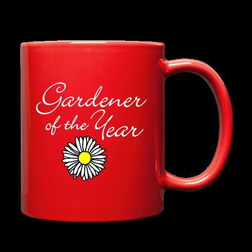Gardener of the Year (White) Mug - Full Color Mug