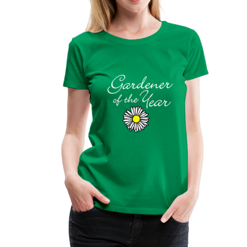 Gardener of the Year (White) T-Shirt - Women's Premium T-Shirt